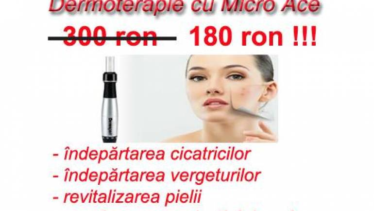 Oferta Tratament Dermato-Terapie cu Mirco-Ace